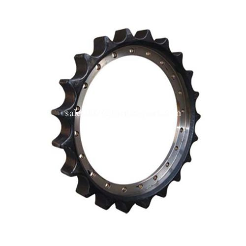 Crawler sprocket for Komatsu bulldozer aftermarket replacement
